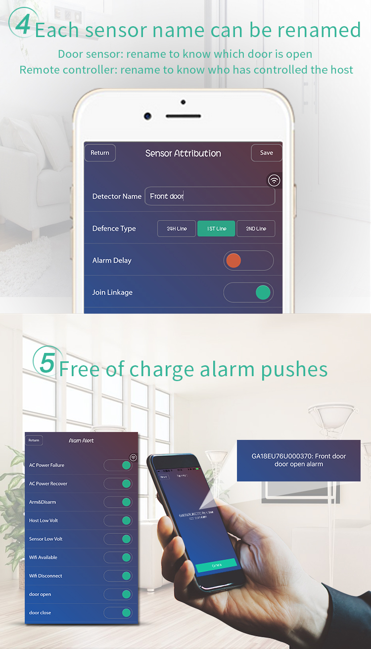 HTB15SR.sOAnBKNjSZFvq6yTKXXaG - Free shipping from Russian Spain 3g gsm wifi alarm Android IOS mobile phone control smart home burglar alarm system