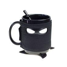 Minch Kreative Ninja Becher Mit Bahnen Ein Rühren Löffel Kaffee Tasse Abnehmbarer Isolierung Tasse Geburtstagsgeschenk