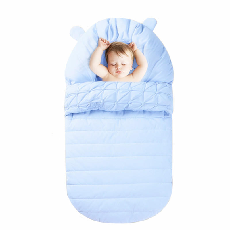 Baby Sleeping Bag Winter Envelope For Newborn Sleep Thermal Sack Cotton Kids Winter Baby Sleep Sack In The Carriage Wheelchairs цены