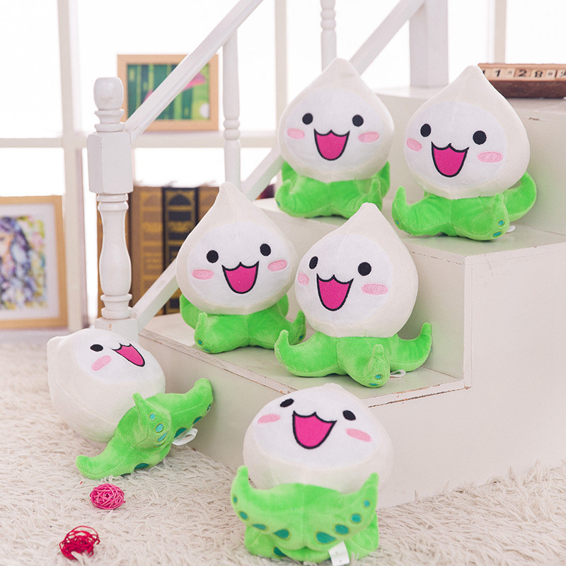 20cm Overwatches Plush Toys Onion Small Squid Stuffed Plush Doll Action Figure Soft Kids Toy