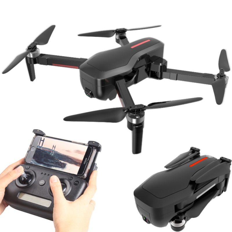 CSJ X7GPS Brushless 4K with Camera 5G Wifi FPV Remote Toys Foldable Gesture Photo RC helicopter