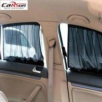 2015 70 48CM Car Curtain Anti UV Sunscreen Net Cloth Shade Car Sun Shade Curtain UV
