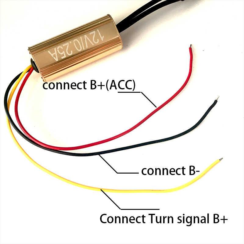 Для Infiniti QX50 2013 белый и желтый двойной цвет хлопок светодиодный глаза ангела комплект halo Кольцо DRL Поворотная сигнальная лампа