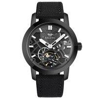 2017 Для мужчин s автоматические механические часы Скелет Hollow Военная Для мужчин часы Роскошные Tourbillon часы Наручные часы Relogio Masculino