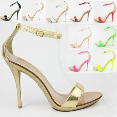 New arrived Vogue 7Color font b women b font T stage Classic Dancing High Heel Sandals
