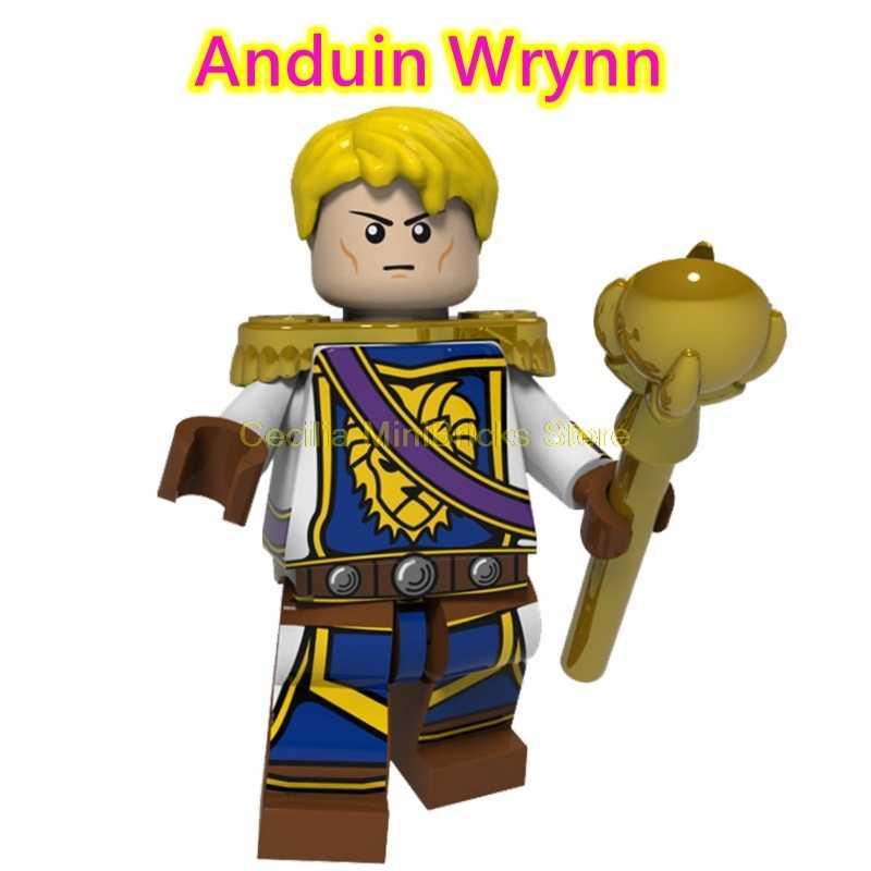 Legoing игра WOW Overwatch World Monster Anduin Wrynn Thrall строительные блоки, совместимые с Legoings игровые игрушки для детей