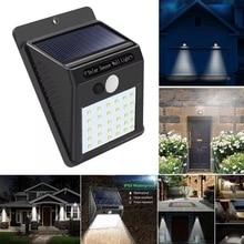 Solar Light 30 LED PIR Motion Sensor Wall Waterproof Outdoor Path Yard Garden Security Lamp For outdoor wall garden