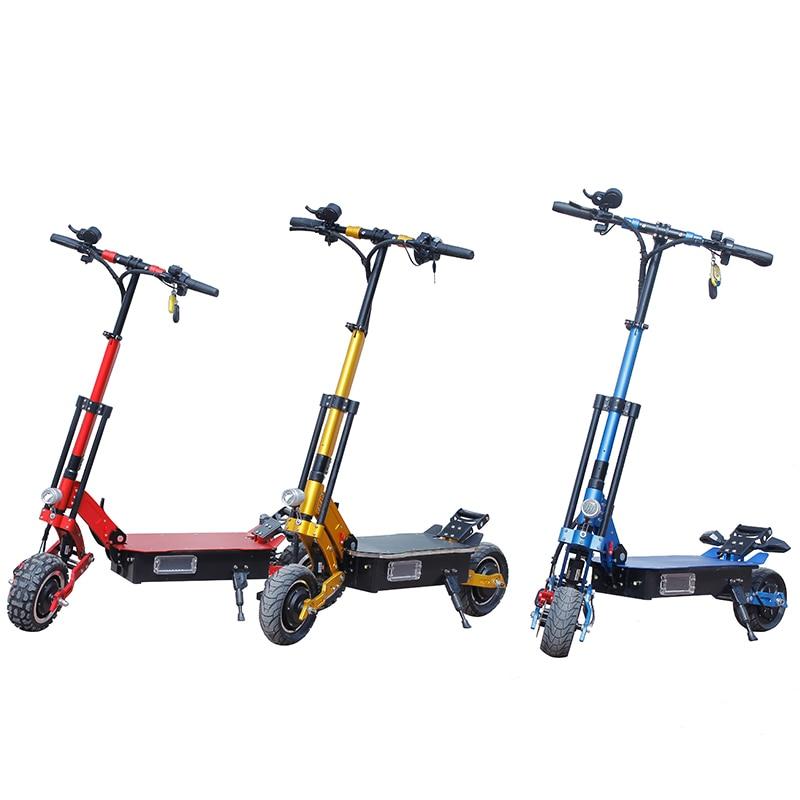 60 V 2000 W trottinette électrique 10 pouces 75 km/h Pliable hoverboad vélo électrique avec siège samsung batterie au lithium 8 pouces 48 V escooter