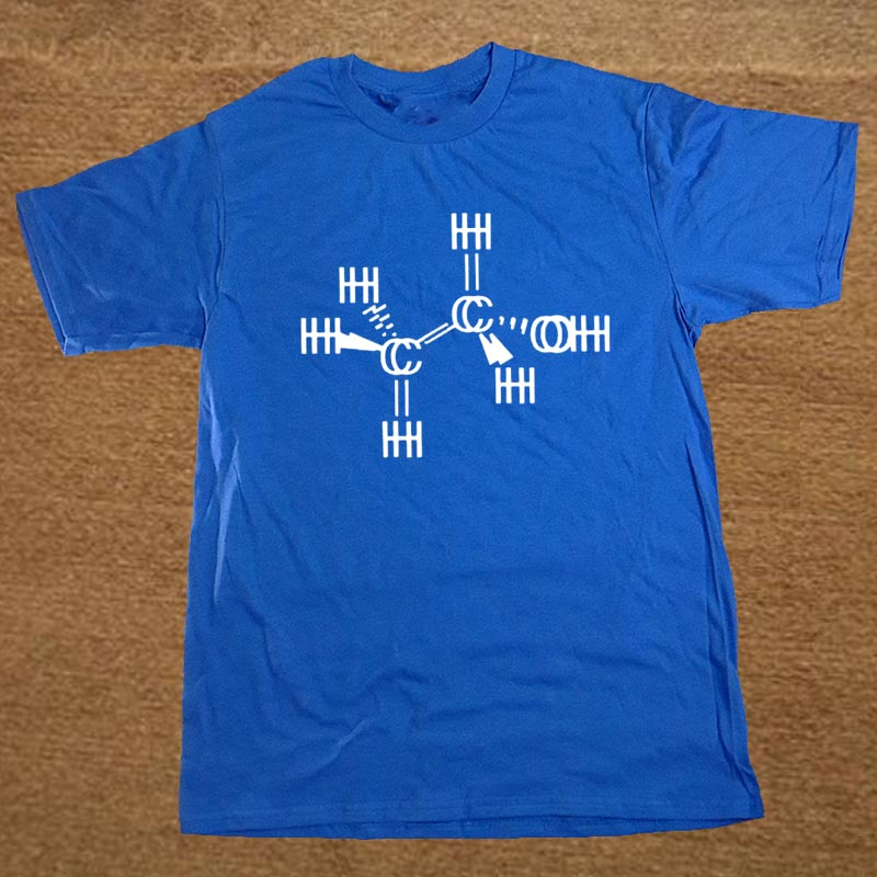 Free Shipping Chemistry Reaction T Shirt Men cotton short sleeve Printed Brand new