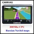 Oferta especial! CARRVAS 5 polegada de Navegação Gps Do Carro, 800 Mhz CPU 9.1 Navitel 2016 mapas para A Rússia Belarus Cazaquistão