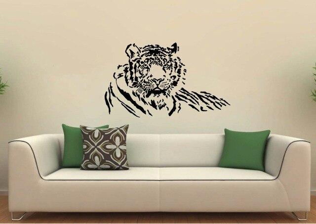 Aliexpress.com : Buy Tiger Wall Decal Vinyl Art DIY Sticker mural ...