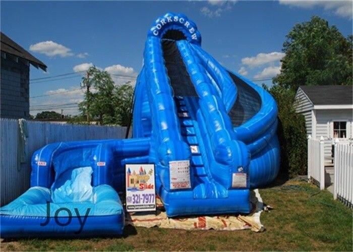 Big Inflatable Pool Slides