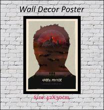 Harry Potter Fan Art Kraft Paper Wall Posters Stickers Home Decor 42X30cm scroll painting harry potter poster diagon alley kraft paper wall art painting movie posters home decor wall sticker