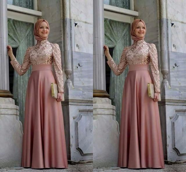 Robe de soiree longue pour hijab