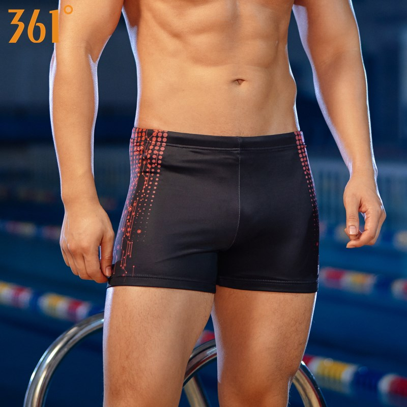 361 Men Swimwear Professional Chlorine Resistant Swimming Trunk For Men 2019 Swim Trunks Boys Swim Shorts Male Swimsuit
