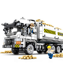 SEMBO Creator Expert Technique Mechanical Engineering earth moving vehicle Building Blocks kit Bricks Educational Toys