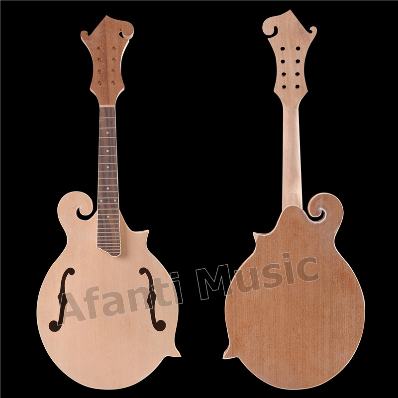 Afanti Music Solid Spruce Top F Mandolin Kit With All Hardware (AMB-900K)