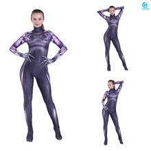 3D printing Alita Cosplay Costume 3D Printing Spandex Lycra Zentai Bodysuit Suit Jumpsuits  holloween costumes цена