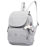 Casual Original Women Bags for Women Backpacks Laptop school bags for teenage girls mochila feminina With monkey keychain