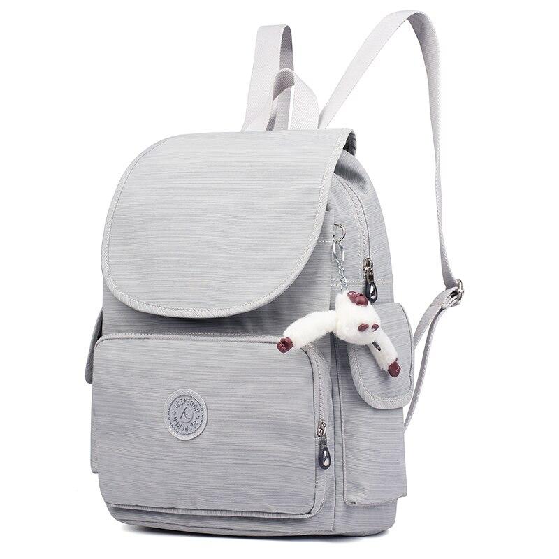Décontracté Original femmes sacs pour femmes sacs à dos sacoche pour ordinateurs portable pour adolescentes mochila feminina avec singe porte-clés