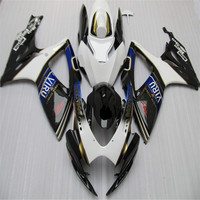 Nn Motorcycle Fairing Kit for SUZUKI GSXR 600 750 K6 06 07 GSXR600 GSXR750 2006 2007 ABS White black BLUE Fairings set
