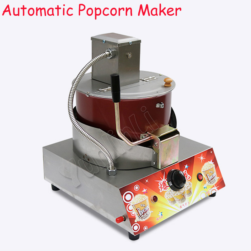 Commercial Gas & Electric Popcorn Maker Automatic Popcorn Machine Spherical And Butterfly Popcorn Machine jh0089