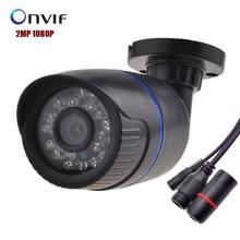 Caméra IP 1080 P 2MP 1920*1080 Securiy Étanche Complet HD Réseau CCTV Camera Support Téléphone Android IOS P2P, ONVIF2.0