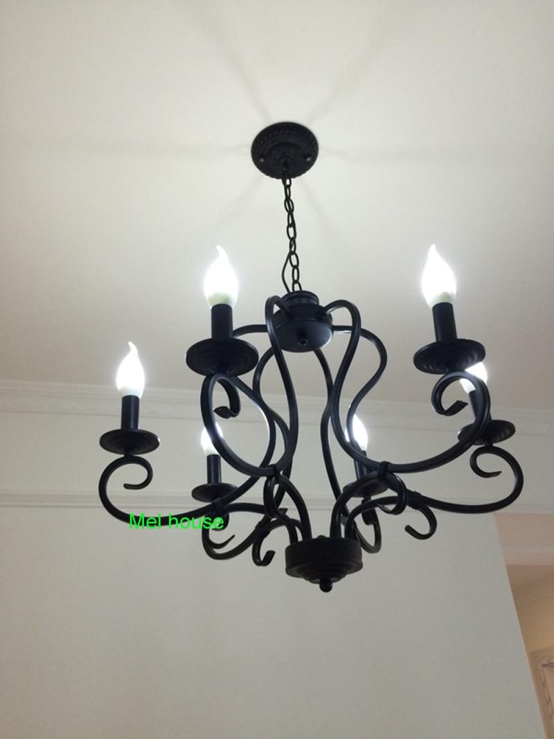 lampe retro kronleuchter beleuchtung industrie glühbirnen lampe - Innenbeleuchtung - Foto 6