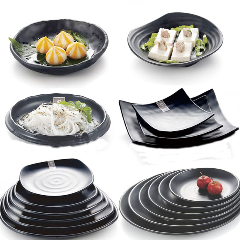 China black Japan style Outdoor grill Tableware Dishes Plates The snack plate Sushi plate Restaurant tableware-in Dishes u0026 Plates from Home u0026 Garden on ...  sc 1 st  AliExpress.com & China black Japan style Outdoor grill Tableware Dishes Plates The ...