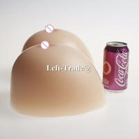 14XL 6000g super huge Size Realistic Silicone Breast Forms Triangle have good concave Fake Rubber Boobs for shemale