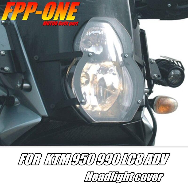 Pour KTM 950 ADV 2003 2004 2005 KTM 990 ADV 2006-2013 LC8 ADV accessoires de moto couvercle de protection de phare
