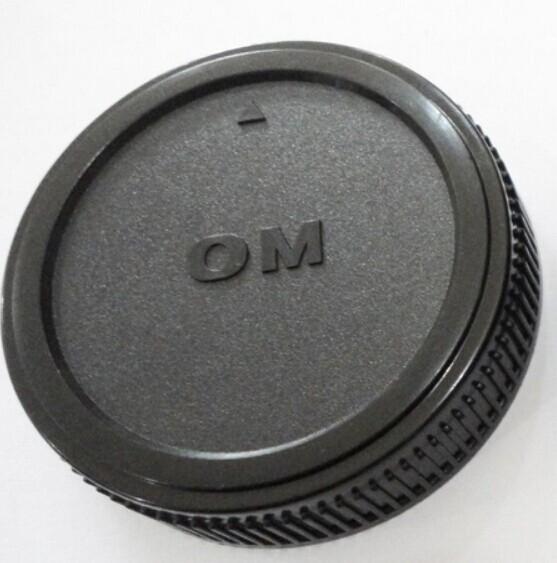 2pcs Camera rear Lens Cap/<font><b>Cover</b></font> <font><b>cover</b></font> protector for olympus OM4/3 OM 4/3 E620 E520 <font><b>E510</b></font> E500 E5 dslr camera image