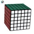 2016 Marca 6-camadas de Shengshou Cubo Mágico Cubo Mágico Profissional 6.7 cm 6x6x6 Cubo (Etiqueta DO PVC) Branco/Brinquedo Educacional 6x6x6 Cubo Cubo preto