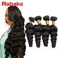 7A Indian Virgin Hair Loose Wave 4Pcs Virgin Indian Hair 100% Human Hair Weaving Indian Loose Curly More Wavy Indian Loose Wave