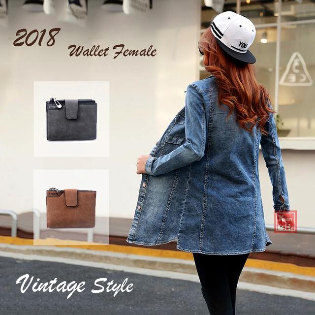 Vintage Wallet Leather Purse