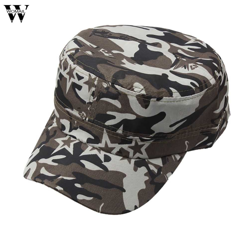 a0be072a7d0 ... Outdoor Camo Tactical Plain Vintage Army Military Cadet Style Cap Hat  Adjustable 6.21 ...