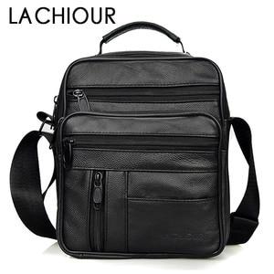 Image 1 - Brand Men Bag 2020 Fashion Mens Shoulder Bags High Quality Leather Casual Messenger Bag Business Mens Travel Bags Handbags