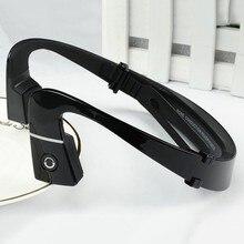 Nuevos deportes auriculares inalámbricos bluetooth para auriculares bone conducción auriculares manos libres con micrófono para correr al aire libre