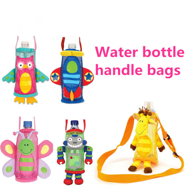 baby kids pulsh toy animal bottle water bottle bag Warmers Stroller Hanging case Bags