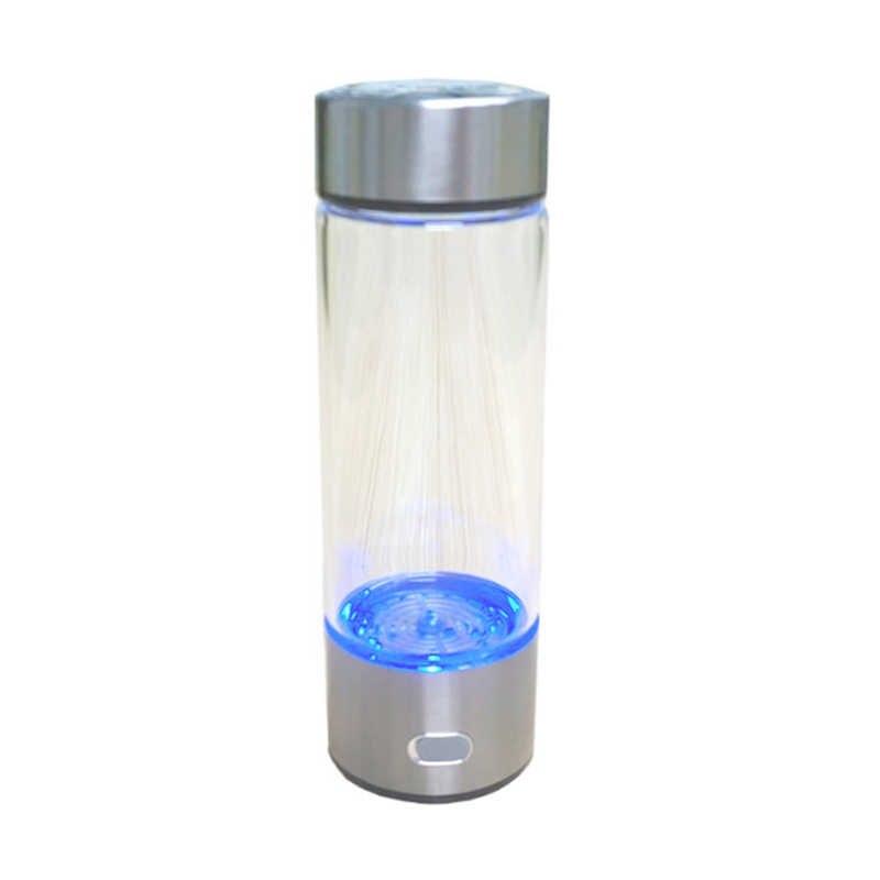 500 ミリリットルポータブル水素発生器の水フィルターイオナイザー純粋なH2 リッチ水素アルカリボトル電解ドリンク水素