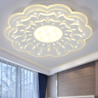 Minimalist Large LED Chandelier Lamp Fixture Modern Ceiling For Living Room Bedroom LED Lamparas De Techo