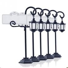 5Pcs Wedding Party Reception Place Card Holder Table Menu Picture Photo Clip Card Holder Stand With A Card