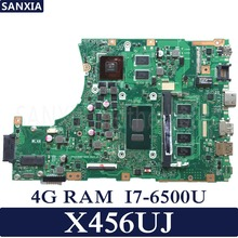 KEFU X456UJ Laptop motherboard for ASUS X456UJ X456UQ X456UB A456U X456U Test original mainboard 4G RAM