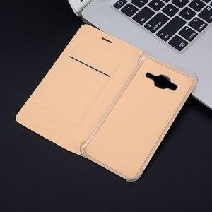 Image 2 - Fdcwts 플립 커버 지갑 가죽 케이스 삼성 갤럭시 j2 프라임 g532 g532f g532h 5.0 인치 슬림 shockproof 전화 케이스