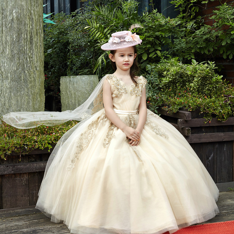 2017 Flower Girl Dresses Cheap Holy Communion Dresses Sexy Children Images 2017 Custom Made