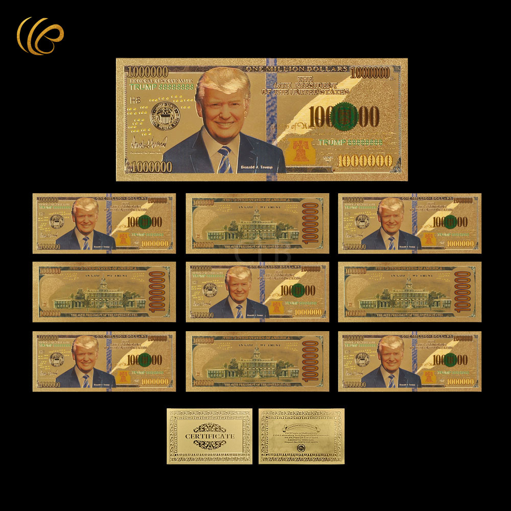 Trump-Fake-Money-10pcs-lot-New-Fashion-Unique-Verson-America-One-Million-Dollars-Gold-Foil-Plated (2)