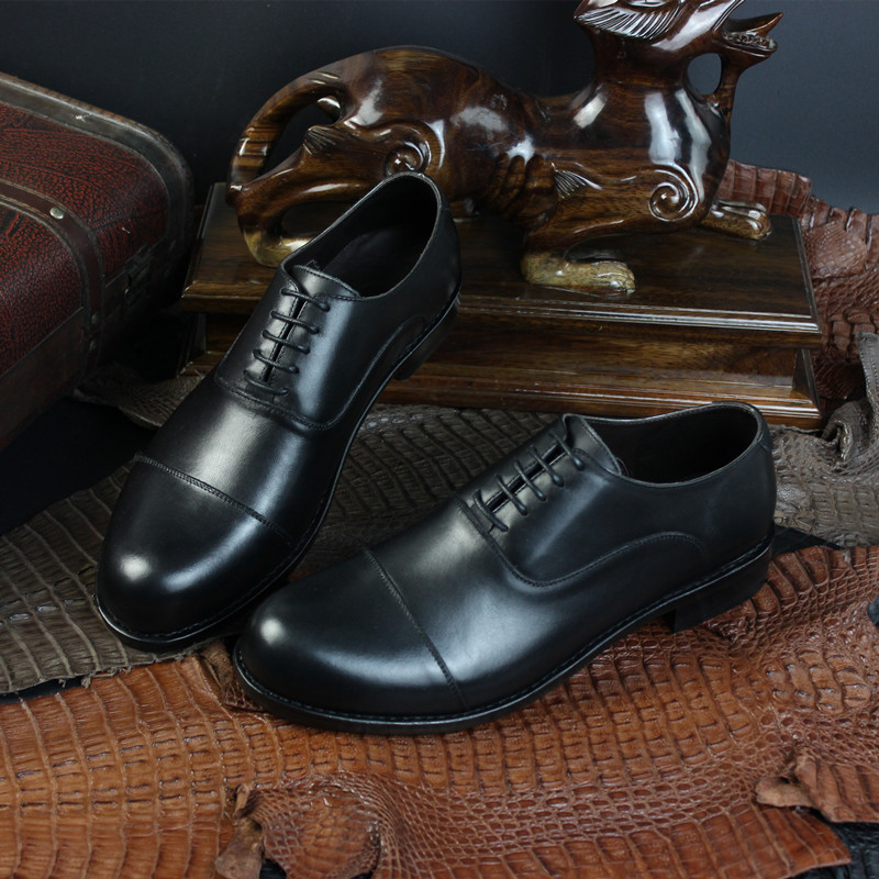 Comfortable Genuine Leather Shoes in Goodyear Welt Hand Made Craft for Gentlemen Party, Wedding Shoes