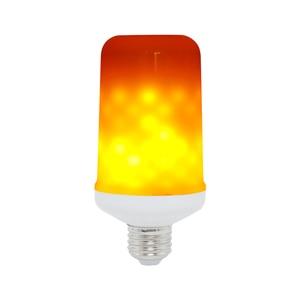 Image 1 - Ampoule LED Flame Effect Flickering Light Bulbs E27 220V 9W Lampara Room Lighting Corn Lamp Bulb Bombilla Lights Xiaomi Lampada