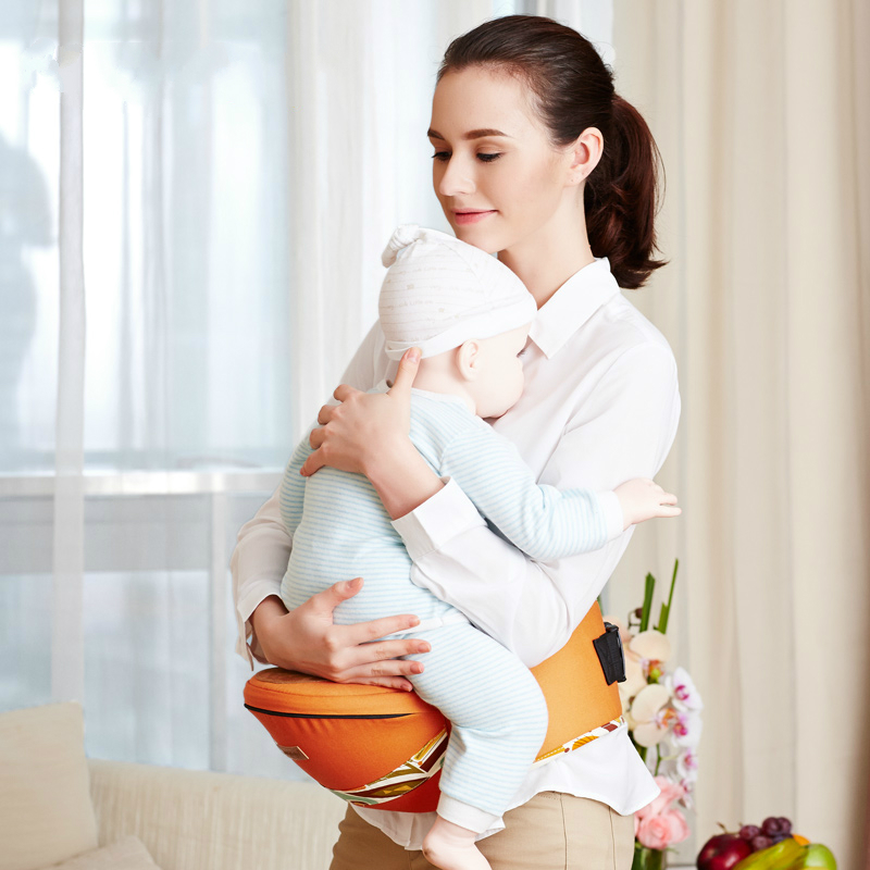 цена на Hot Selling High Quality Baby Waist Stool Front Holding Type Multifunctional Waist Strap Baby Stool Cotton Fabric Waist Belt