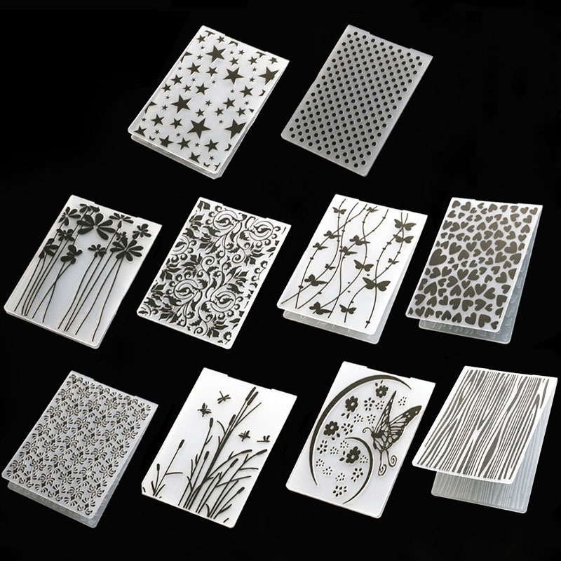 Plastic Template Craft Card Making Paper Cards 1Pcs Photo Album Wedding Decoration Scrapbooking Embossing Folder